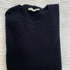 Everlane crewneck cashmere sweater size L in Navy